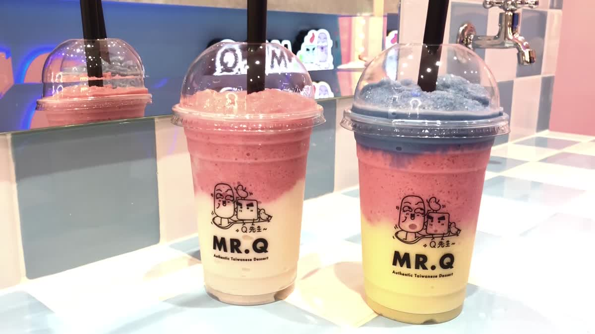 """Mr.Q Taiwanese Dessert"" ร้านขนมหวานสไตล์ไต้หวัน"