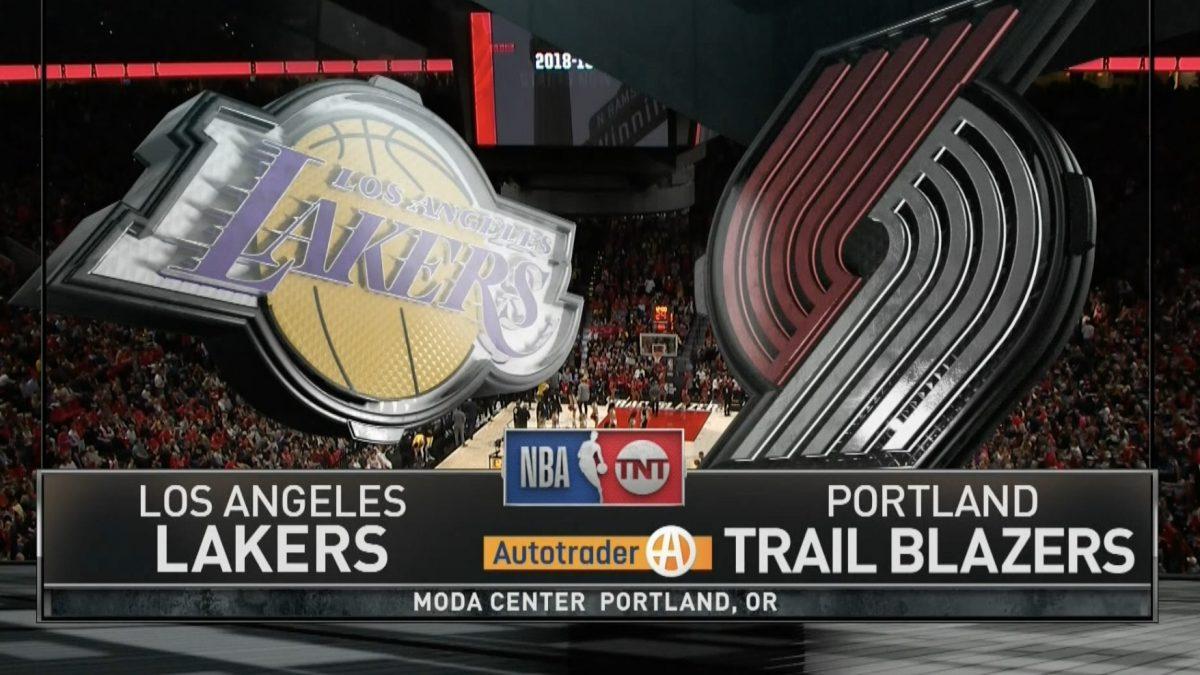 [Highlight] Los Angeles Lakers VS Portland Trail Blazers