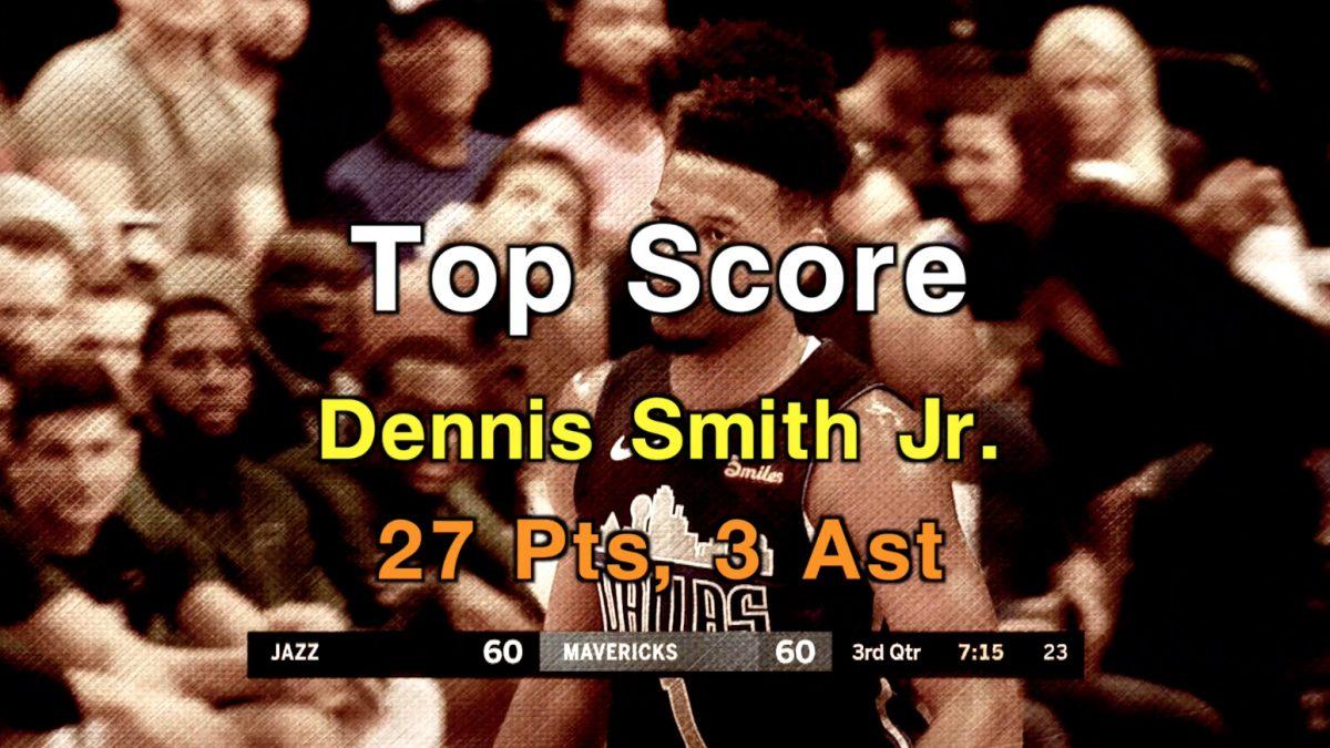 [Highlight] Utah Jazz VS. Dallas Mavericks