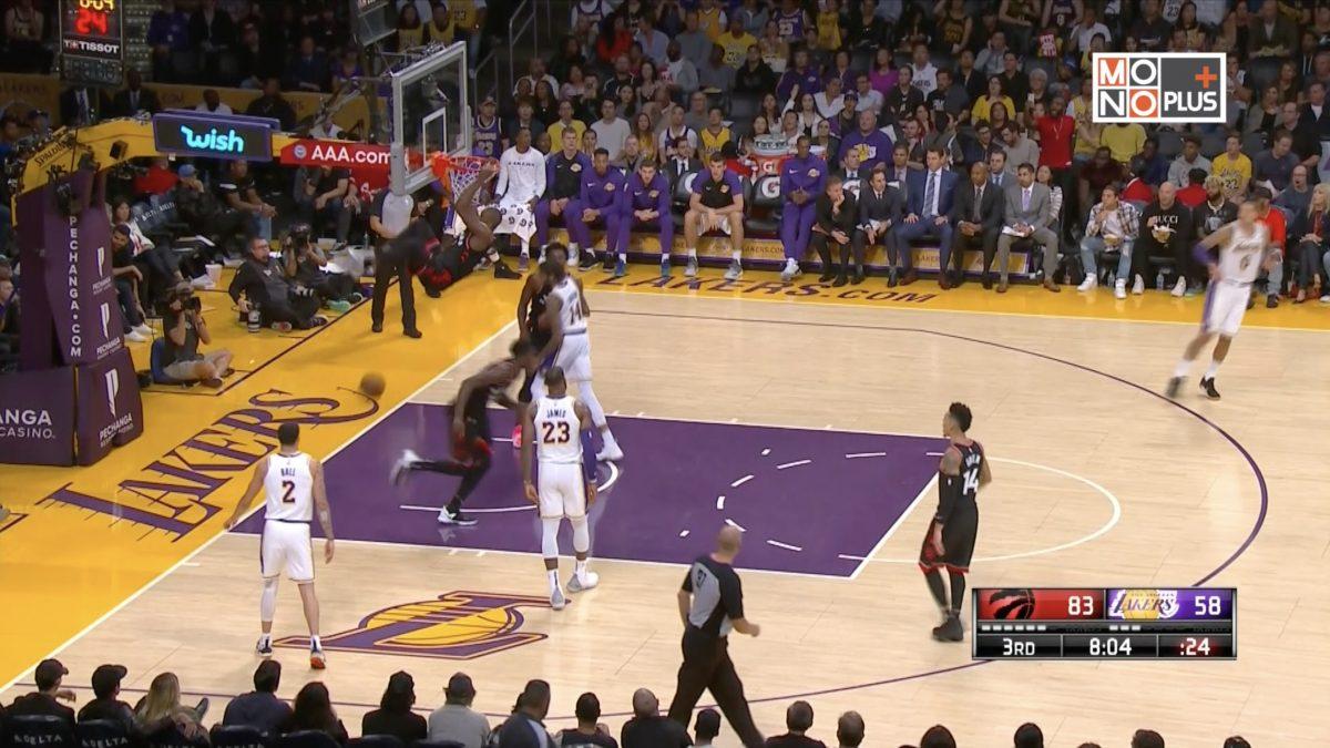 [Highlight] Toronto Raptors  VS Los Angeles Lakers
