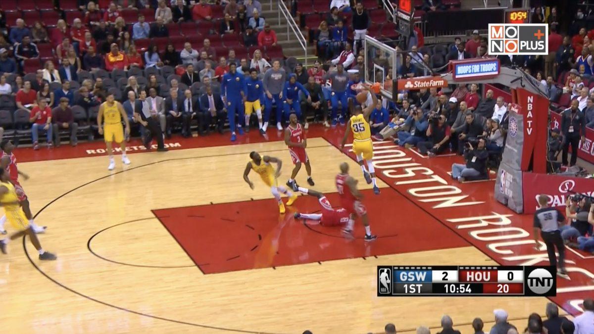 [Highlight] Golden State Warriors VS Houston Rockets