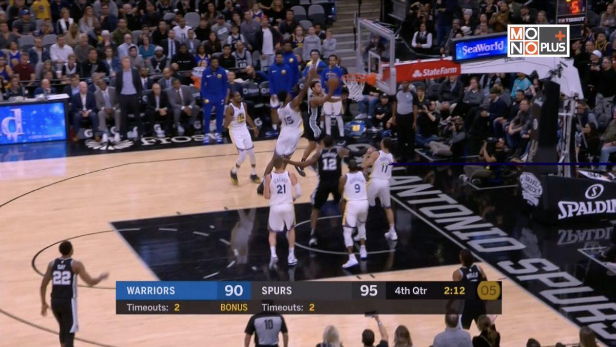 [Highlight] Golden State Warriors VS San Antonio Spurs