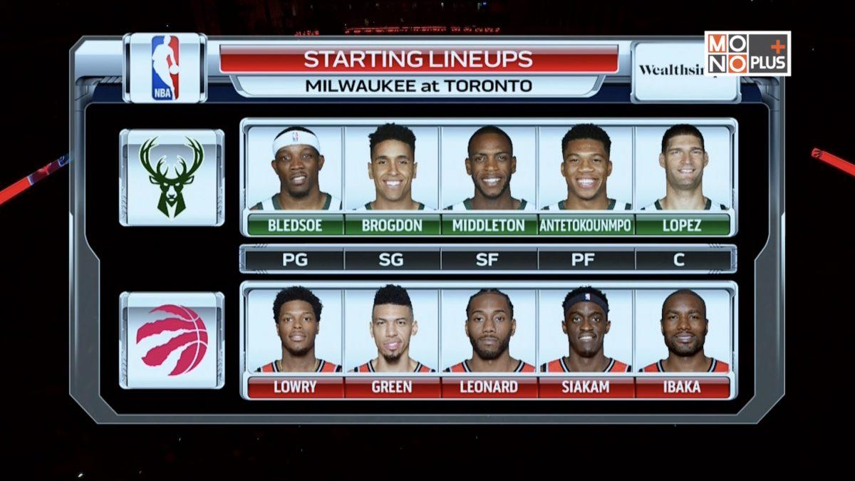 [Highlight] Milwaukee Bucks VS. Toronto Rapter