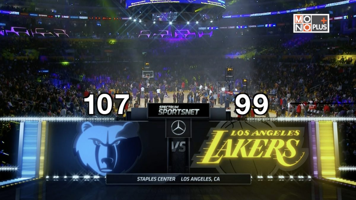 [Highlight] Memphis Grizzlies VS Los Angeles Lakers
