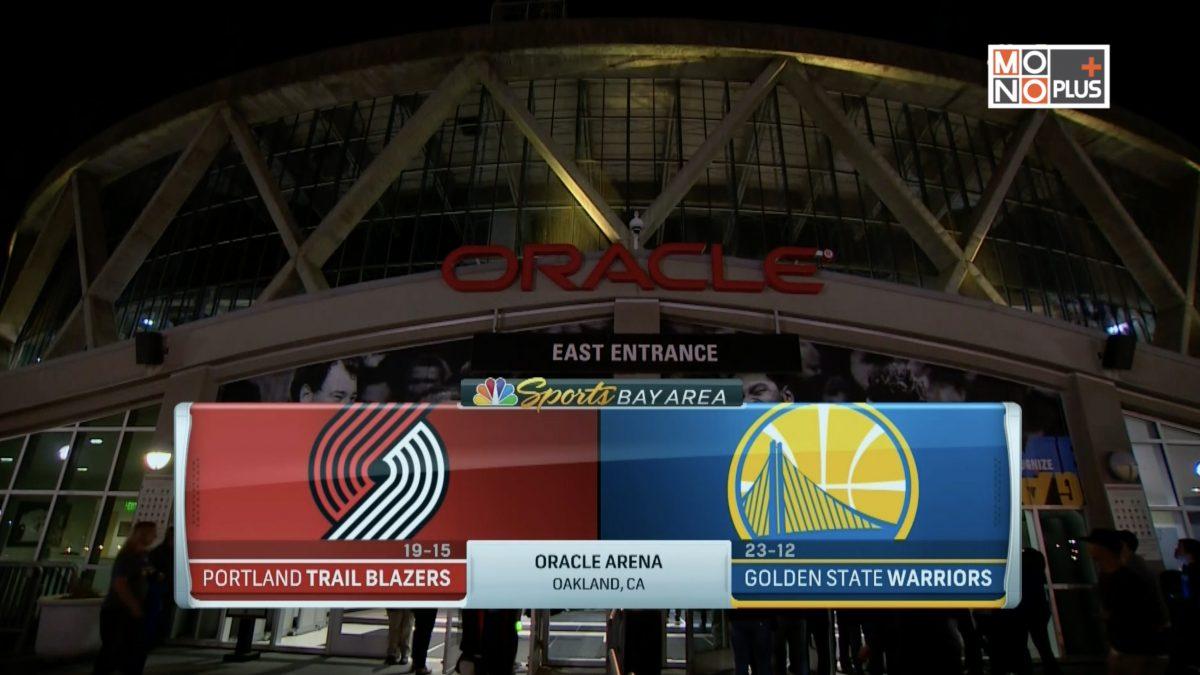 [Highlight] Portland Trail Blazers VS. Golden State Warriors