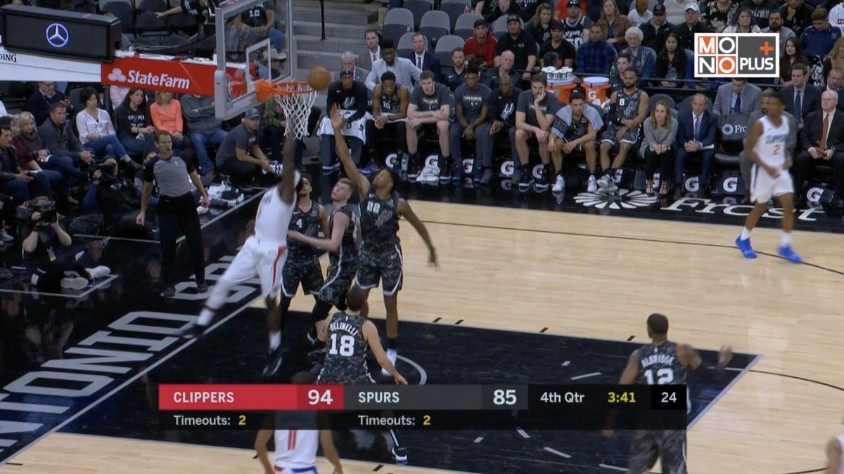 [Highlight] Los Angeles Clippers VS. San Antonio Spurs