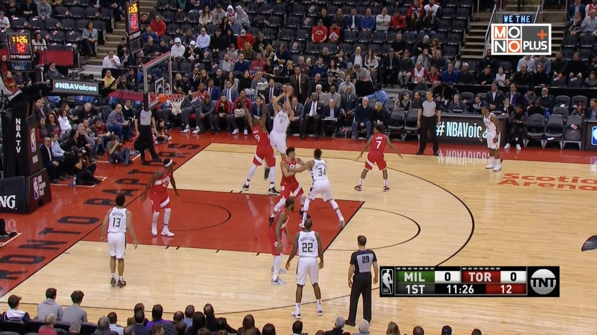 [Highlight] Milwaukee Bucks VS Toronto Raptors