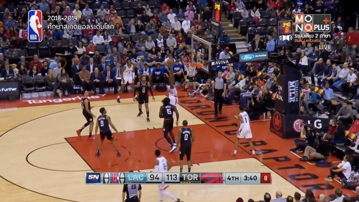 [Highlight] Los Angeles Clippers VS. Toronto Raptors