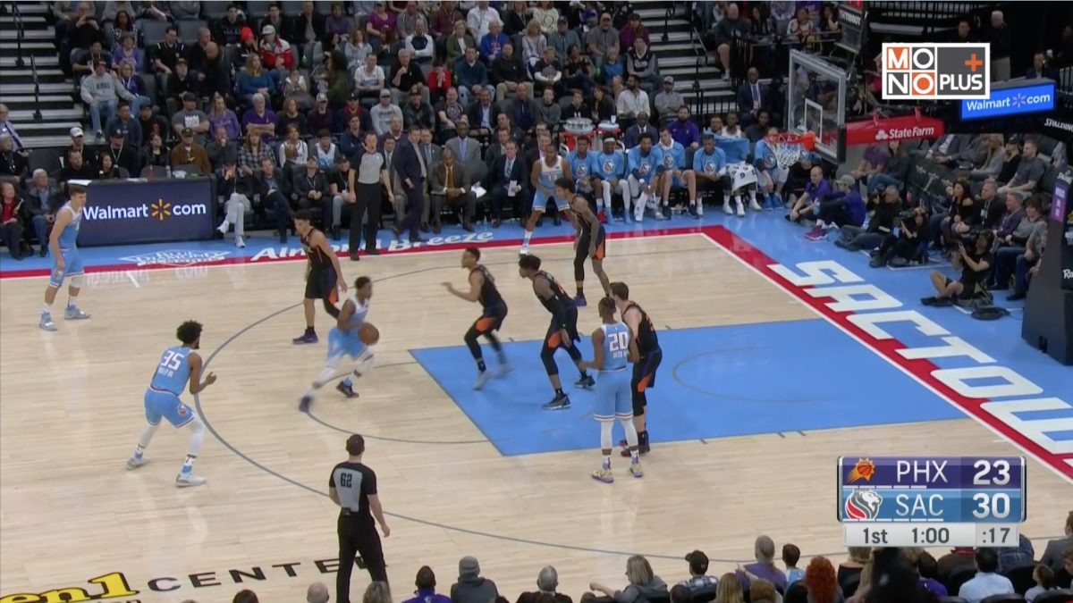 [Highlight] Phoenix Suns VS. Sacramento Kings