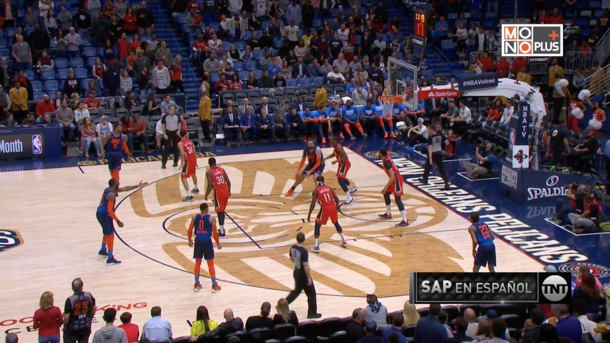 [Highlight] Oklahoma City Thunder VS. New Orleans Pelicans