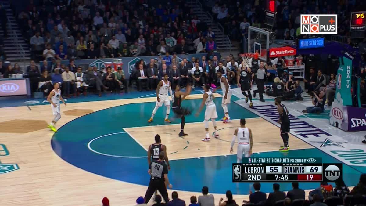 [Highlight] Team LeBron VS. Team Giannis