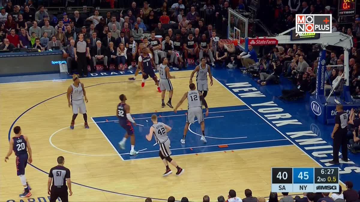 [Highlight] San Antonio Spurs VS. New York Knicks