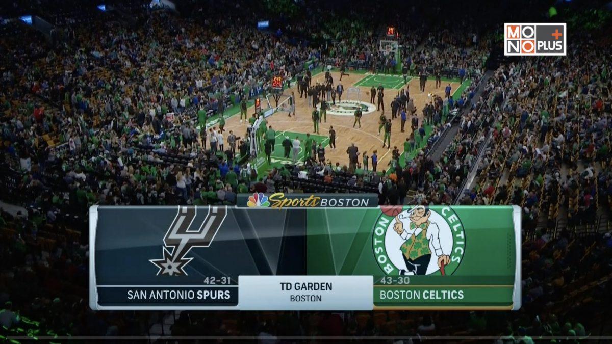 [Highlight] San Antonio Spurs VS. Boston Celtics