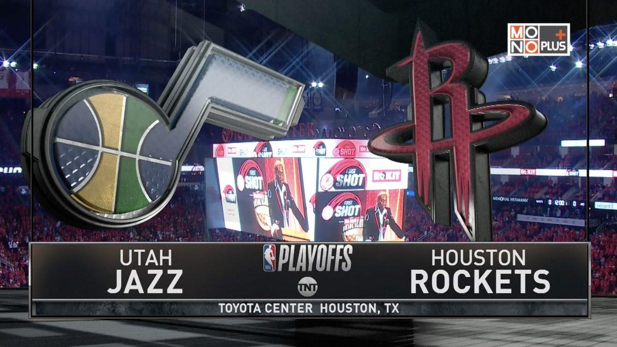 [Highlight] Utah Jazz VS. Houston Rockets