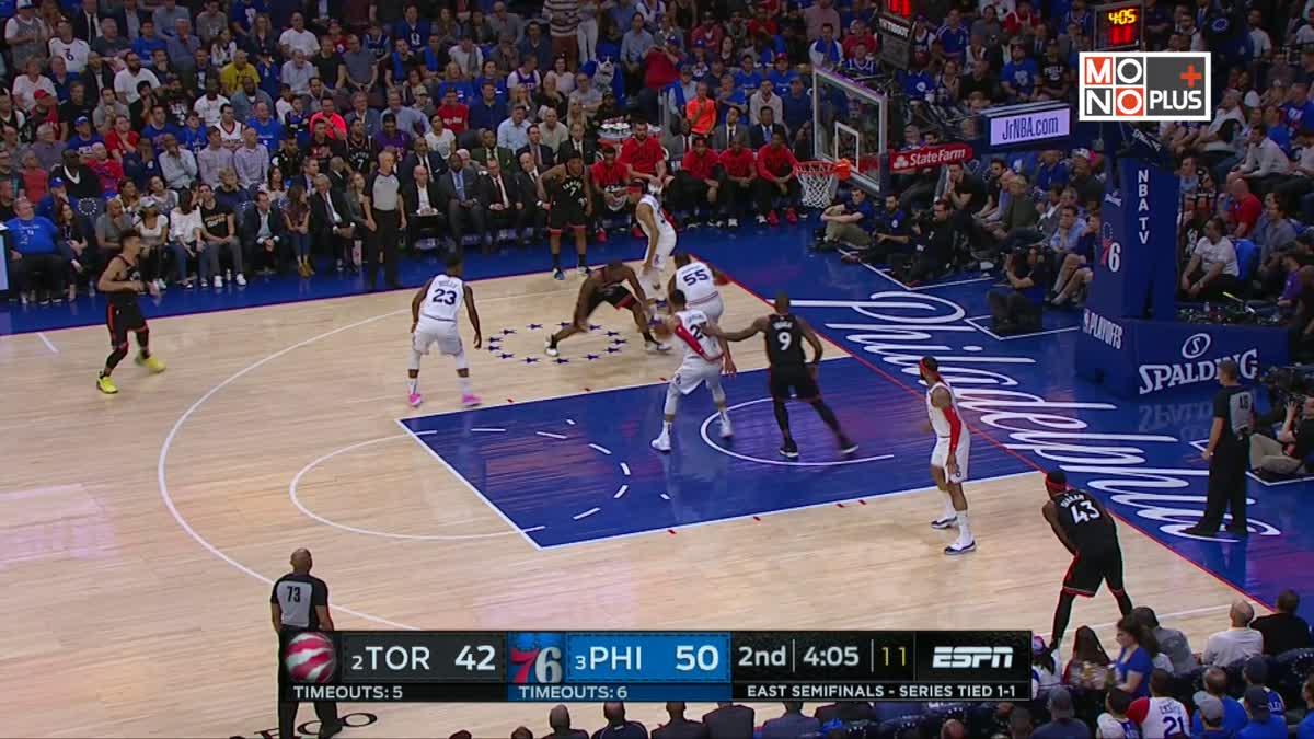 [Highlight] Toronto Raptors VS. Philadelphia 76ers