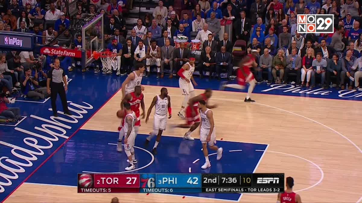 [Highlight] Toronto Rapter VS. Philadelphia 76ers
