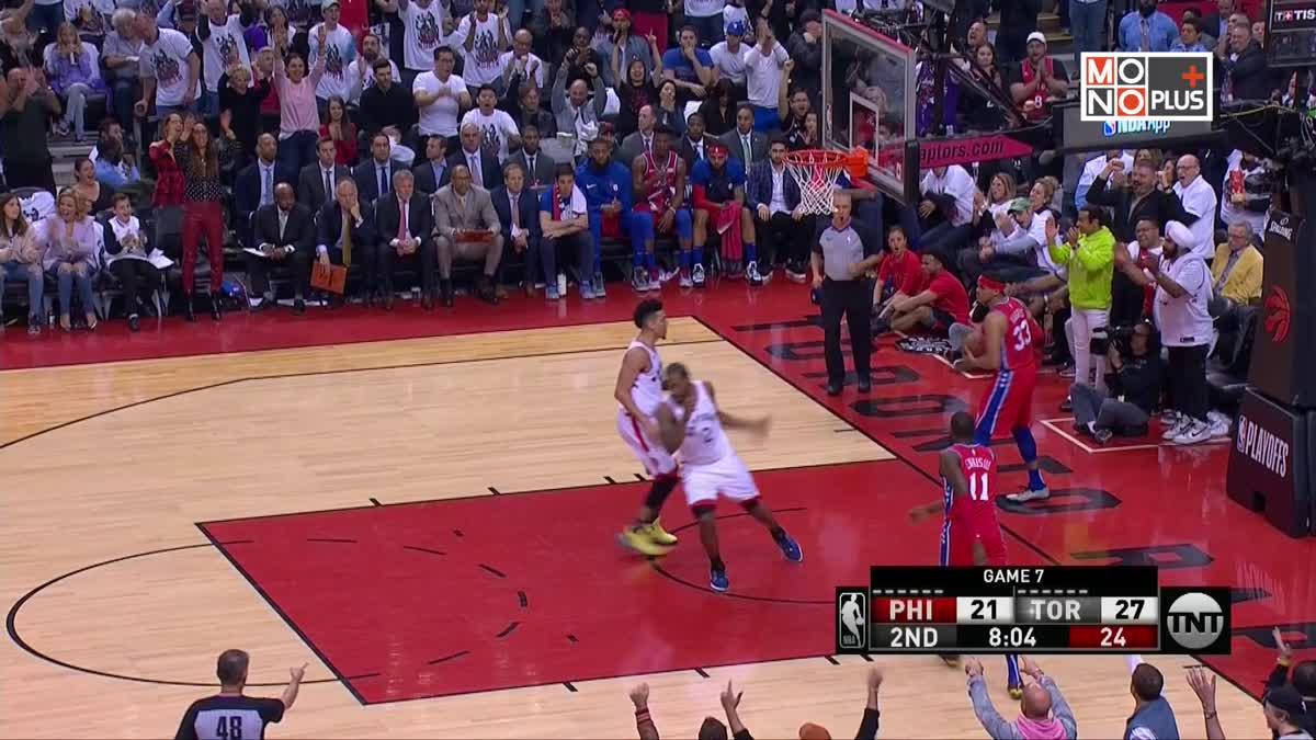[Highlight] Philadelphia 76ers VS. Toronto Rapter