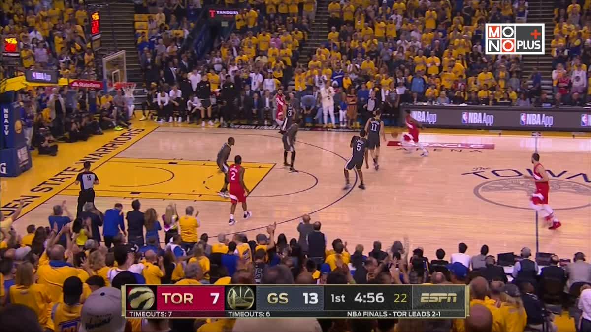 [Highlight] Golden State Warriors VS. Toronto Raptors [GAME4]