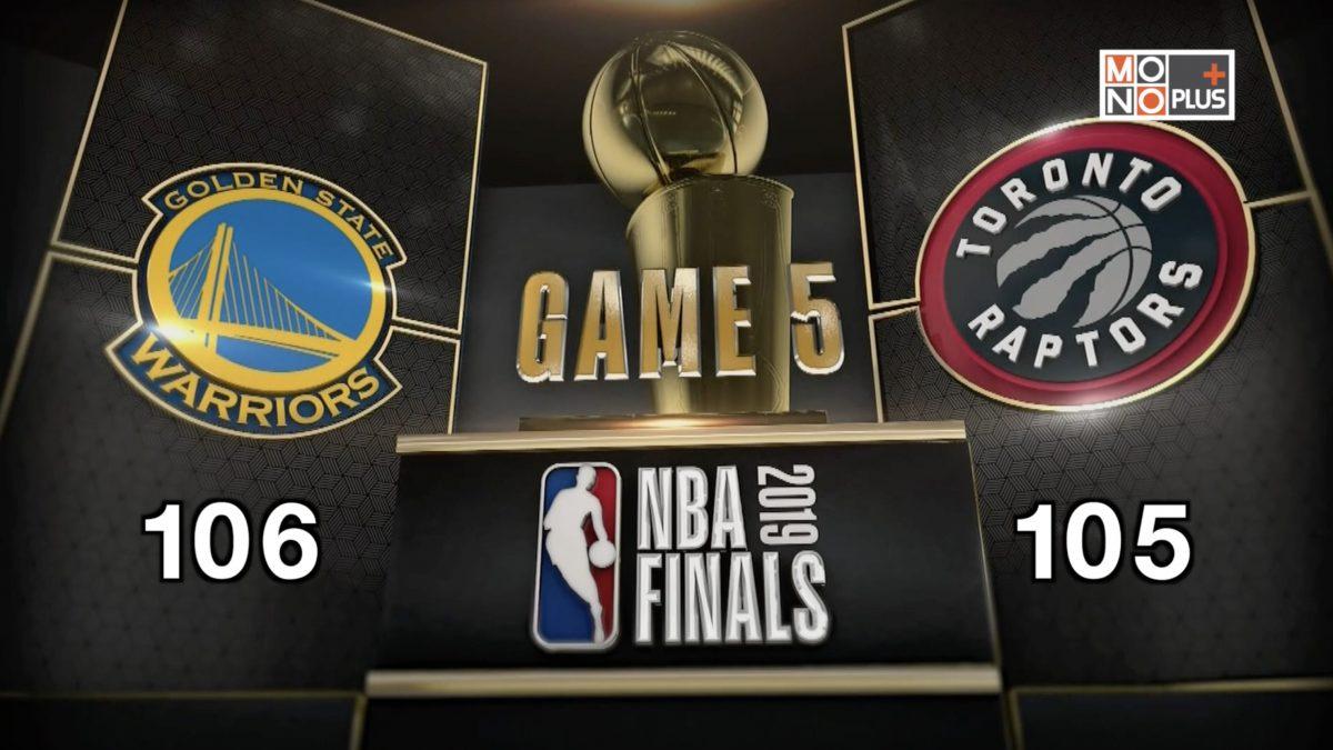 [Highlight] Golden State Warriors VS. Toronto Raptors [GAME5]